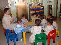 Imagen de la escuela infantil de Leciñena