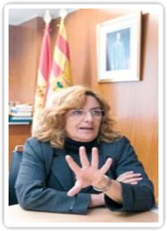 Consejera de Educación del Gobierno de Aragón