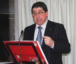 Pedro Rascón, presidente de CEAPA