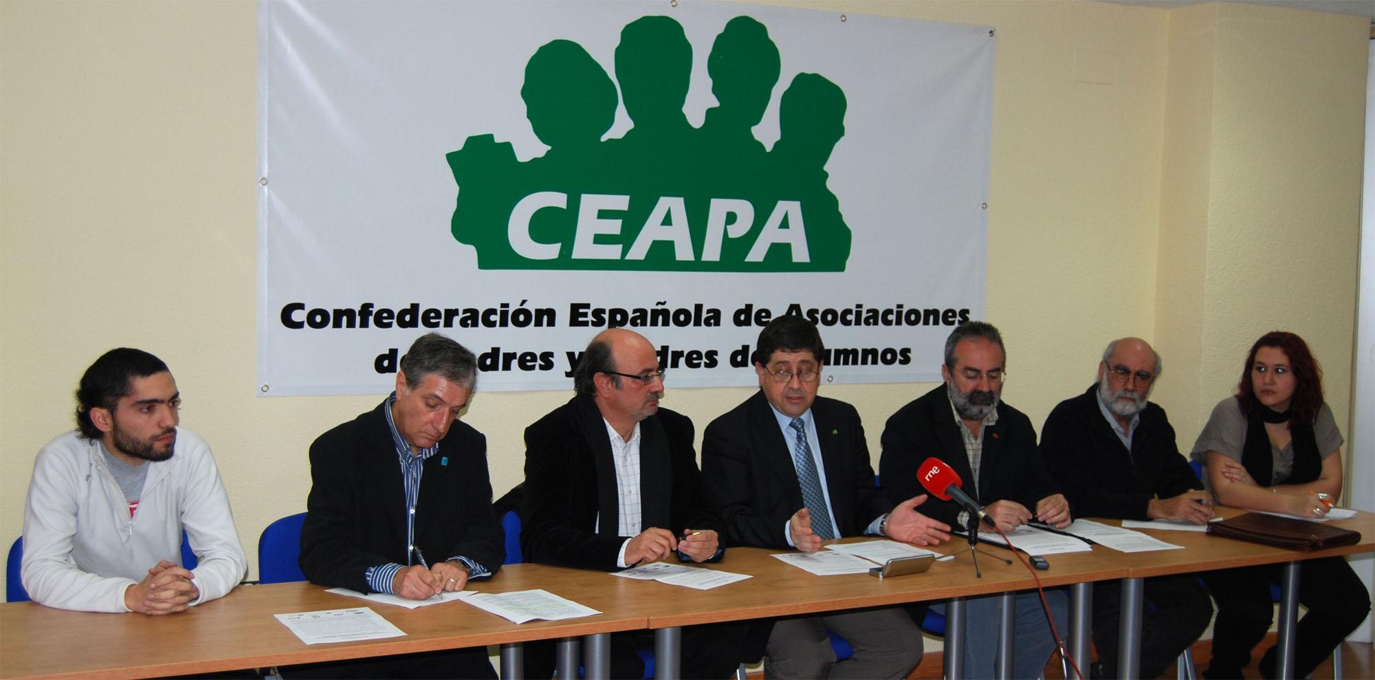Presentación del Manifiesto Por una Educación Mixta       (Madrid, 10 de febrero de 2008)