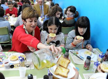 Una alimentación saludable evita futuros problemas de salud