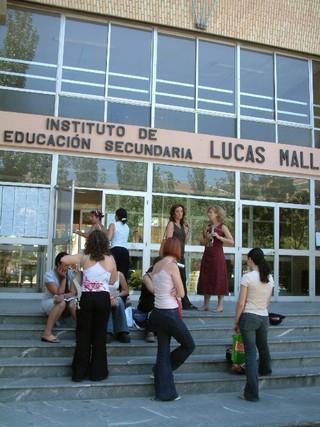 La prueba de PISA examina a los alumnos de 15 años. | D.A. Instituto E. S.  Lucas Mallada de Huesca