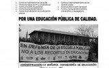 9 de mayo: Huelga general educativa