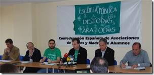 9 de mayo: Huelga general educativa