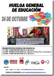 Huelga_24_octubre_Huesca