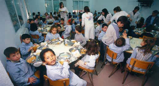 i jornada de comedores escolares en zaragoza . informa:fapar