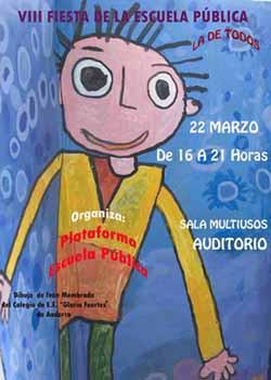 FIESTA POR LA ESCUELA PÚBLICA. ZARAGOZA 2009
