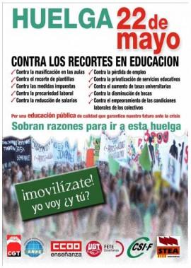 Cartel_Huelga_22_Mayo