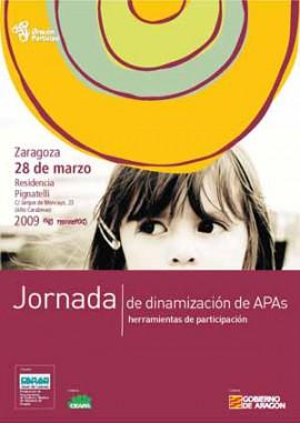 Jornada de Dinamización  para APAs,  Sábado 28 de marzo / 09