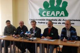 La Plataforma por la Enseñanza Pública está integrada por la Confederación Española de Asociaciones de Padres y Madres de Alumnos (CEAPA), Sindicato de Estudiantes, FE-CCOO, FETE-UGT, STES-i, y MRPs.