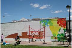Mural colegio Lucien Briet