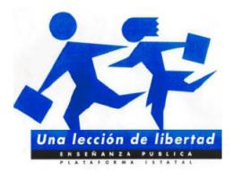 Plataforma Estatal por la Escuela Pública