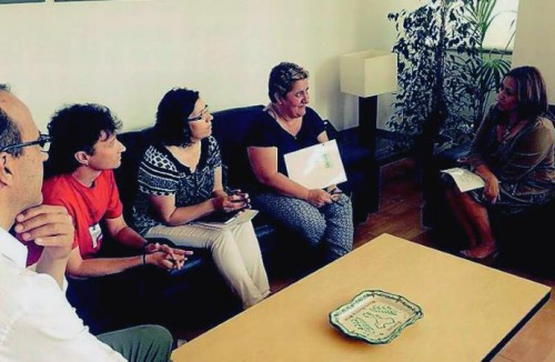 reunion_fapar_consejera_ Mayte_Perez