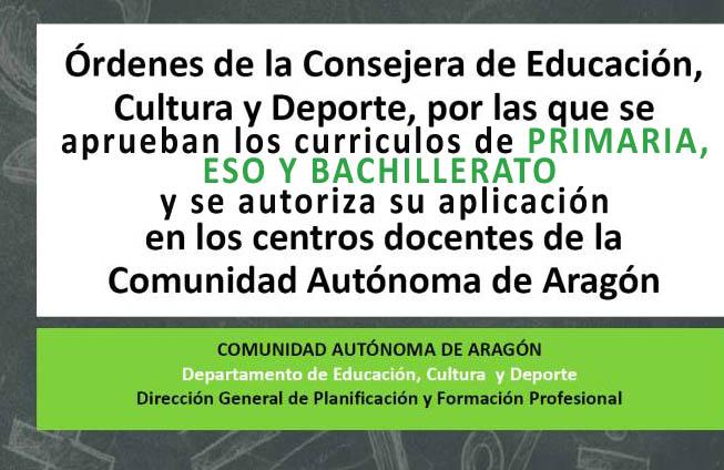 ordenes_aragon_primaria_eso_bachillerato