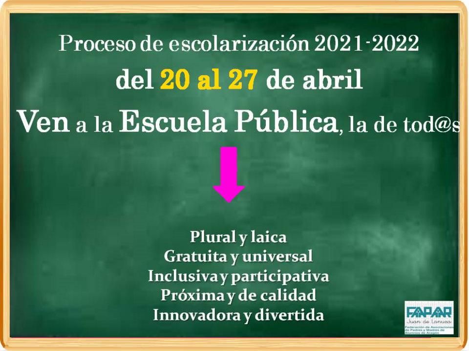 escolarización-21-22